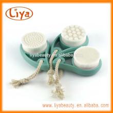 Liya Pore sauberer Pinsel mit hochwertigem Kiefernholz Bürstenhalter und weiche Borsten