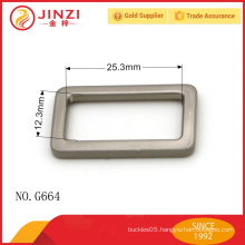 High end bag hanger square belt buckle