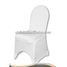 white lycra chair cover,CTS938,fit for all the chairs,wedding,banquet,hotel chair cover,sash and table cloth