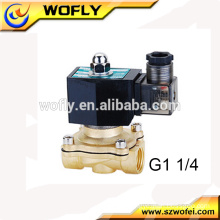 China supplier Brass Normally closed Lpg gas solenoid valve