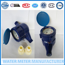 Medidor de flujo plástico de agua de alta calidad en la marca Gaoxiang