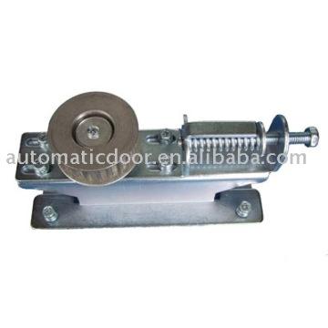 Deper automatic sliding door aluminium belt tensioner pulley