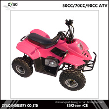 Cheap 50cc 4 Wheeler Kids ATV Small Quad Bike ATV Sports Quad 70cc/ 90cc ATV Quad for Sale