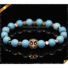 Nueva joyería hecha a mano de las pulseras DIY de la turquesa natural de la manera (CB099)