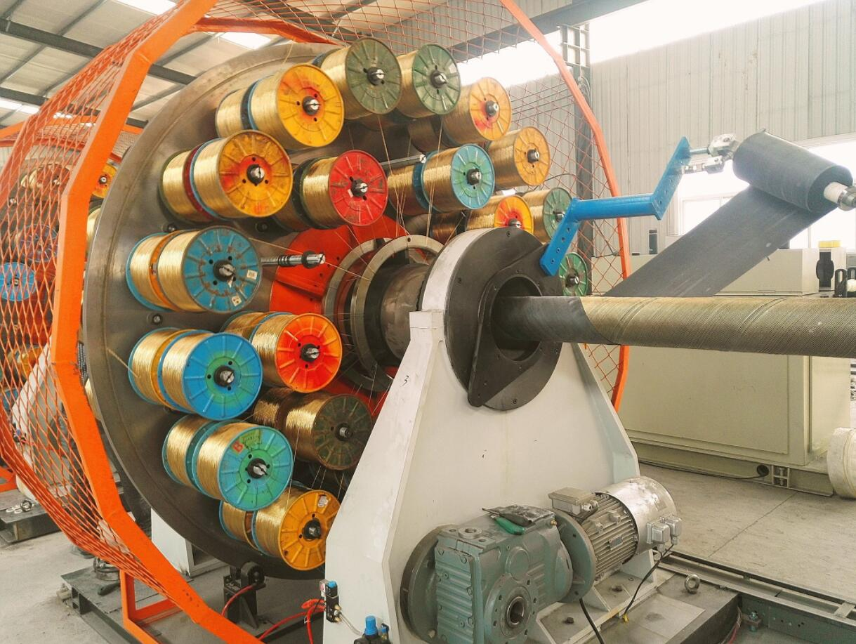rubber hose working processing