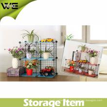 DIY Storage Cube Metal Shelving Wire Storage Rack