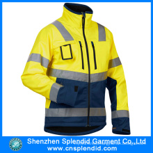 High Visibility Reflective Wholesale 100% Polyester Bomber Jacket