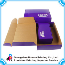 High Quality Custom Different Size CorrugatedShoes Box with Handle
