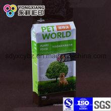 Haustierfutter-Seitenfalten-Verpackungs-Nahrungsmittelgrad-Beutel