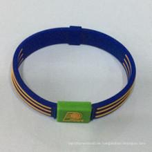 Professionelle Fertigung Präge Sport Silikon Armband