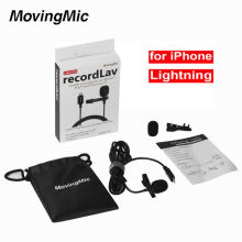 Multipurpose Single Head Lavalier Microphone And Receiver For Vloggers