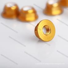 Écrous de rivet OEM en aluminium résistant à la torsion