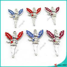 En gros coloré cristal ange pendentif bricolage accessoires (MPE)