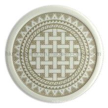 Coaster redonda da melamina com logotipo (PT7108)