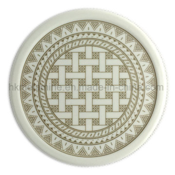 Круглый меламин Coaster с логотипом (PT7108)