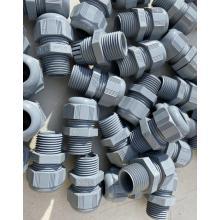 1/2 Zoll 90-Grad-nichtmetallische flüssigkeitsdichte PVC-Verschraubung