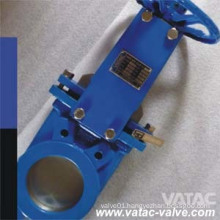 Cast Steel Wafer Slurry Knife Gate Valve
