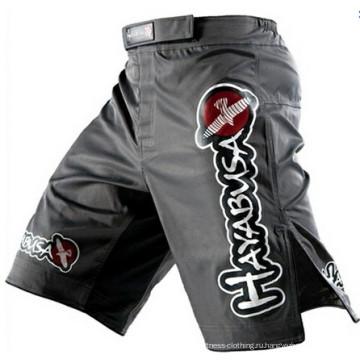 Высокое качество Индивидуальные полиэстер растянуть MMA шорты