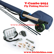 Chinese Low Price Fly Fishing Starter Combo