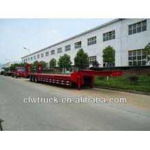 Remolque plataforma baja 13 m, remolque camión pesado