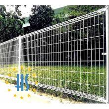 PVC-beschichtete doppelte Schleife geschweißter Maschen-Zaun