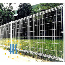 PVC Coated Double Loop Welded Mesh Fence