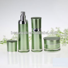 Round Waist Acrylic Airless Bottle