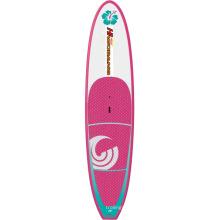 Женская надувные серфинга борту в воде для развлечения