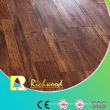 Commercial 12.3mm E0 HDF AC3 Embossed Oak V-Grooved Laminate Flooring