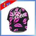 Lip Printed Foam Mesh Trucker Cap