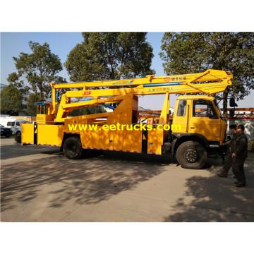 Camiones con plataforma aérea 8-12m Dongfeng