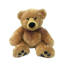 Urso de pelúcia pelúcia marrom claro