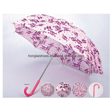 Red Rose Pattern: Child Umbrella