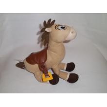 Cabello largo caballo de peluche de juguete