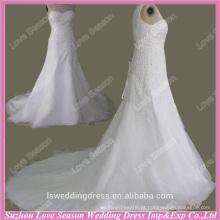RP0084 Qualidade de tecido de vidro pesado com contas de corpete puro casamento dre últimos vestidos de noiva real vestido de noiva casamento de noiva 2015