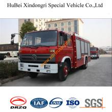 6ton Dongfeng EQ1160zz4gj 153 Water Fire Truck Euro3