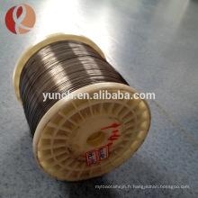 fil de mémoire de nitinol enroulé à vendre