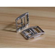Hochwertiges Legierungsmaterial Nickel Farbe einfache Dornschließe für Gürtel