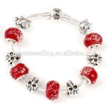 Yiwu moda jóias de vidro moda senhora pulseira de vidro