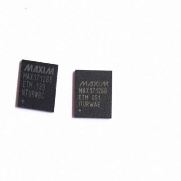 DBSS3-- Integrated LCD QFN Package MAX17126 In Stock Electronic Component IC Chip MAX17126B