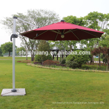 UV resistant folding beach umbrella with lamp outdoor light umbrella