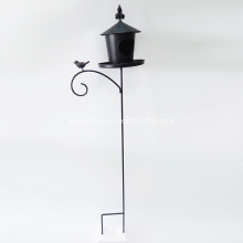 Metal Beautiful Bird-Home Stake For Garden Decoration