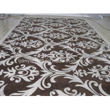 Blumen und Pflanzen Muster Wolle Teppich