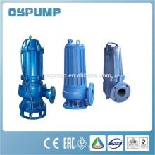 Pompe submersible centrifuge d'acier inoxydable de WQ / QW non-colmatage