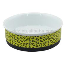 producto de cerámica para mascotas con base de silicona