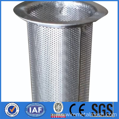 128 mm keluar kartrij penuras Perforated diameter