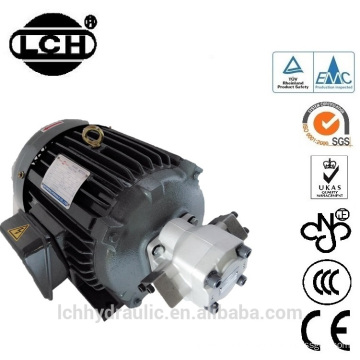 price of professional 3 phase induction motor driven hydraulic pump