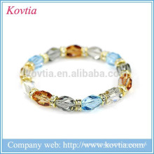 Wholesale yiwu fashion natural crystal beaded nautical gifts bracelets