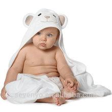 100%органических бамбука с капюшоном Детское полотенце и мочалка набор идеально подходит для новорожденных, младенцев и детей ясельного возраста и Baby ванны Ультра мягкий