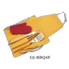 Ensemble d'outils de gril 4 pièces